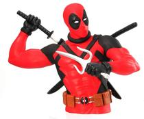Marvel Deadpool Action Figure Cofre Busto Licenciado -
