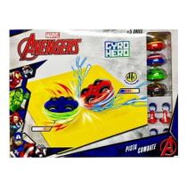 Marvel Gyro Hero Pista Combate Os Vingadores Dtc 4921 -