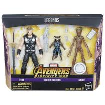 Marvel Legends 6-inch Thor Rocket and Groot 3-pack - Hasbro