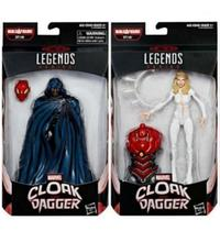 Marvel Legends Cloak And Dagger - 2 Bonecos - Hasbro