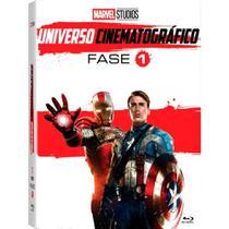 Marvel Universo Cinematográfico Fase 1 - DVD -