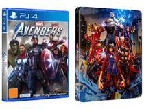 Marvels Avengers para PS4 Steelbook - Lançamento