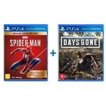Marvels Spider Man Edição Jogo do Ano + Days Gone - PS4 - Bend Studio