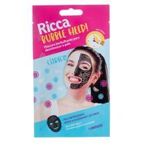 Máscara Borbulhante para Desintoxicar a Pele Ricca -