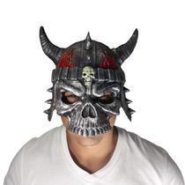Mascara capacete caveira fogo fantasia cosplay - Lynx Produções artistica