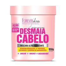 Máscara Capilar Ultra Hidratante Desmaia Cabelo Forever Liss 950g -