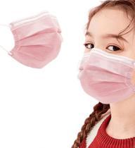 Máscara Cirúrgica Dupla Descartável Infantil - 50 unidades - Luimed
