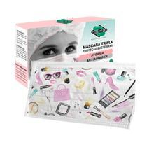 Máscara Cirúrgica Protdesc Descartável Tripla c/ Elástico Fashion 20 uni -