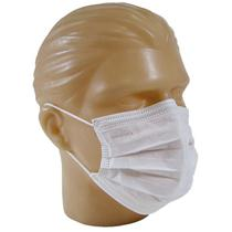 Máscara Cirúrgica Tripla Descartável Com Elástico - DESCARPACK (CX50UN) -