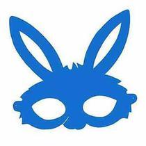 Máscara Coelho em E.V.A  10 unidades - Festabox