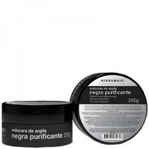 Máscara de Argila Negra Purificante - Hidramais - 200g -