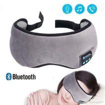 Mascara de Dormir Bluetooth com Fone de Ouvido Tapa Olho Sono Tranquilo Musica - Braslu -