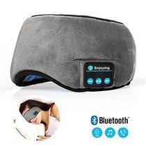 Mascara de Dormir Bluetooth com Fone de Ouvido Tapa Olho Sono Tranquilo Musica - Midy
