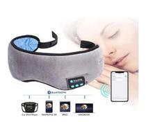 Máscara De Dormir Fone De Ouvido Bluetooth Meditação Relaxamento Tapa Olho - Exclusivo