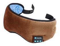 Máscara De Dormir Fone De Ouvido Bluetooth Meditação Relaxamento Tapa Olho Usb - Exclusivo