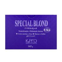 94ec902b4d mascara de hidratação K.Pro special blond masque para cabelos loiros - 165gr