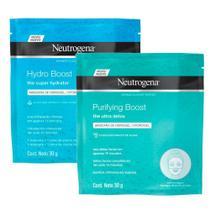 Máscara de Hidrogel Hydro Boost+ Purifying Boost 30ml - Neutrogena