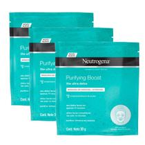 Máscara de Hidrogel Neutrogena Purifying Boost 30ml -