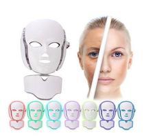 Mascara De Led 7 Cores Facial Pescoço Fototerapia No Brasil - Gonzattoimports
