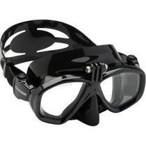 Máscara de Mergulho Action com Suporte para Câmera - Cressi -
