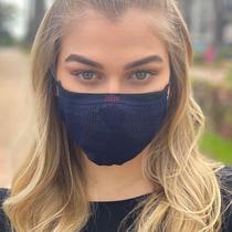 Máscara de proteção esportiva unissex 3D AirKnit azul vermelho grená - Ebeus