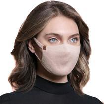 Máscara de Proteção Feminina Biamar Rosa Claro -