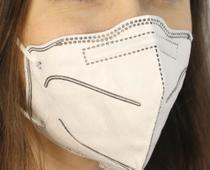 MASCARA DE PROTEÇÃO K N95  - CAIXA COM 10 UNIDADES - confeccionada com 3 camadas de proteção - Huweikang