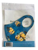 Mascara de Proteção Neoprene Lavável Infantil Minions - B3 Farma