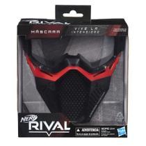 Máscara De Proteção - Nerf - Rival - +14 - Vermelha - Hasbro -