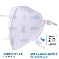 Máscara de Proteção Respiratória Hospitalar PFF2 N95  GVS -