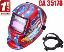 Mascara De Solda Automatica Cinza/Vermelho Apollo Ton 9 A 13 -