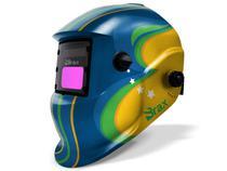 Máscara De Solda Automática Com Regulagem DIN 9 a 13 Customizada Brasil - Brax -