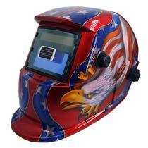 Mascara De Solda Eletronica Com Regulagem 9 A 13 Arte Bandeira Americana - 0000160 - Apollo -