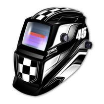 Máscara de Solda Super Tork Racing 45 Automática com Display 4K -