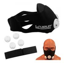 Máscara De Treinamento Simula Altitude Cardio Liveup -