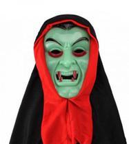 Mascara de Vampiro C/ Capuz - Bazar