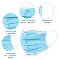Máscara Descartável Cirúrgica Tripla caixa com 50 unid - Krya / Sharuan