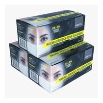 Mascara descartavel tripla proteção kestal 10 caixas -
