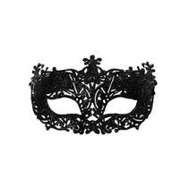 a4d9c849f Máscara Elegância PretA Acessório Carnaval Fantasia - Cromus