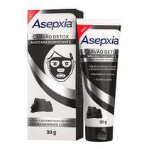 Máscara Facial Asepxia Carvão Detox 30g -