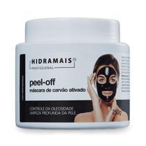 Máscara Facial Carvão Ativado Peel-Off Hidramais 250 gramas -