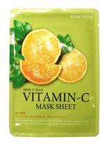Máscara Facial Coreana - Baroness Mask - Vitamina C -