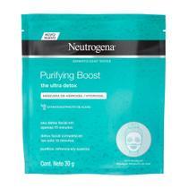 Máscara Facial Hidrogel Neutrogena Purifying Boost 30g -