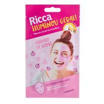 Máscara Facial Iluminou Geral! Extrato de Romã 1uni - Ricca -