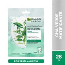 Máscara Facial Matificante Garnier Skin Chá Verde Hidra Bomb - 32g -
