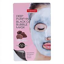Máscara Facial Negra de Espuma O2 Vulcânica - Purederm -