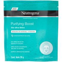 Máscara Facial Neutrogena Purifying Boost Hydrogel 30g -