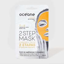 Máscara Facial Océane - Dual-Step Mask- Óleo de Amêndoas e Vitamina E -