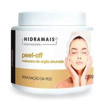 Máscara Facial Peel-Off Argila Dourada Hidramais 250 Gramas -