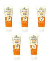 Máscara Facial Peel Off Vitamina C Phállebeauty - Kit C/5 Toque Seco - Phallebeauty